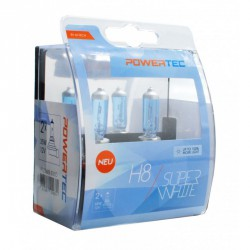 Powertec SuperWhite H8 12V 55W - 2szt.
